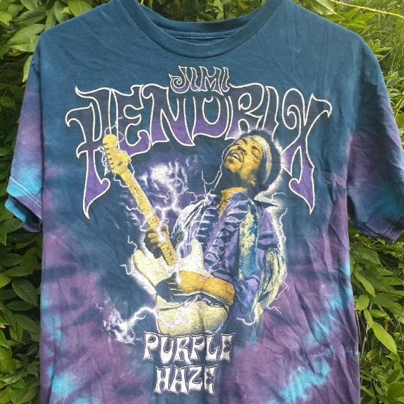 05e51d9dc449f Vintage Jimi Hendrix Purple Haze Tie Dye Shirt